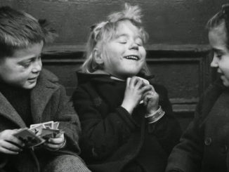 Card Players Ruth Orkin