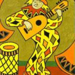 le_clown_à la mandoline