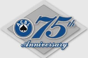 75anniversaryACBL