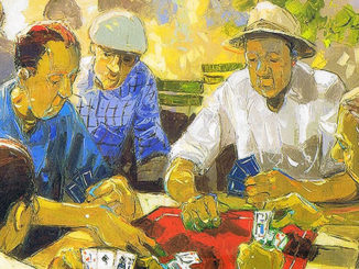 André Deymonaz Have a game of cards 1946