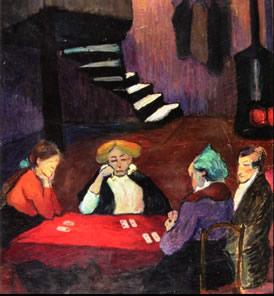 cardplayersmariannevonwerefkin1913