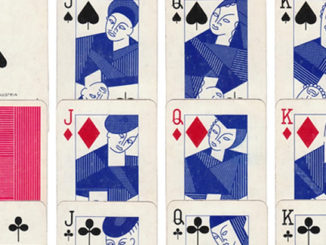 "Blue Playing Cards"" by Piatnik, 1960s. Images Rex Pitts."
