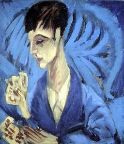 Joueur de cartes Ernst Ludwig Kirchner