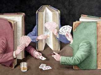 The Cards Players by Jonathan Wolstenholme 2004