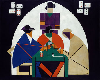 Card Player Theo Van Doesburg
