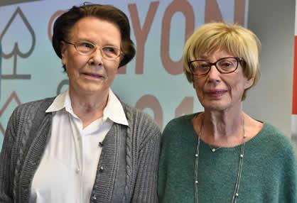 Chantal Blondel et Janine Wickers